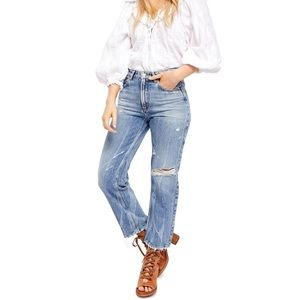 FREE PEOPLE Dakota High Rise Jeans